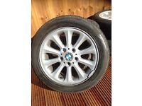 "BMW alloys wheels an tyres 16"""