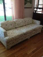 Estate Sale:  Traditional sofa & loveseat