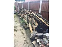 Free wood (great for a bonfire!!)