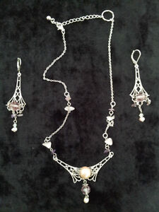 NEW Necklace and Earring Set - Handmade