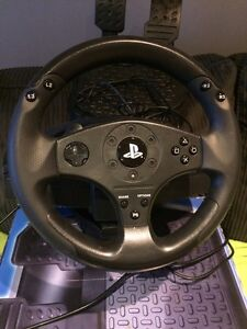 Playstation 4 and 3 thrust master T80 wheel West Island Greater Montréal image 3
