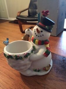Snowman Candle Holder London Ontario image 1