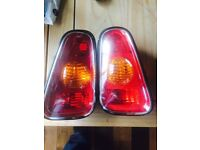 Mini 1, rear lights