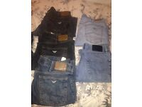 Armani, Hugo boss and diesel jeans! £5.00 a pair