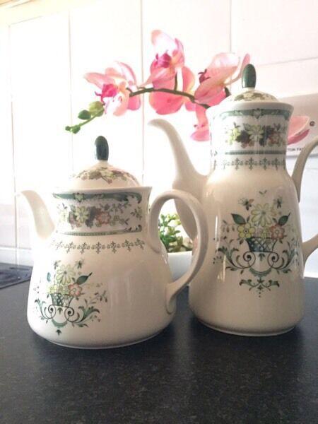 Royal Doulton Provencal Tea & Coffee Pots / Jugs
