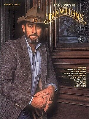 The Songs of Don Williams Sheet Music Piano Vocal Guitar Songbook NEW 000358578 on Rummage
