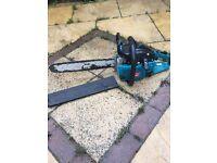 Petrol chainsaw makita 18 inch saw