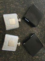 2 BRAND NEW and NEVER USED Bridesmaid Flasks