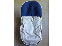 Icandy footmuff AZURE no zip RRP £95