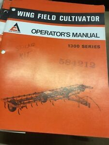 Allis Chalmers Part's, Service and  Operators Manual's Stratford Kitchener Area image 7