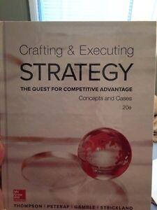 Business Strategy Textbook $100 Strathcona County Edmonton Area image 1
