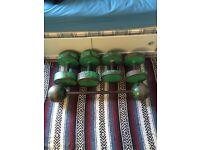 117.5kg Dumbbell Set