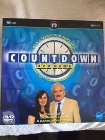 Countdown DVD game