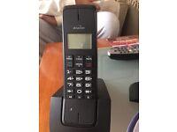 Cordless binatone phone slimline