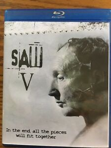 Saw V Blue Ray London Ontario image 1