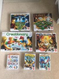 LEGO game selection (7 games)