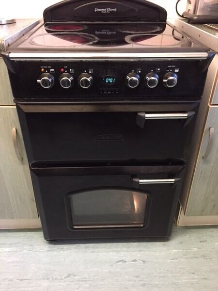 Gaurmet Classic double oven electric cooker