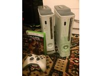 2 Xbox 360s With Controller