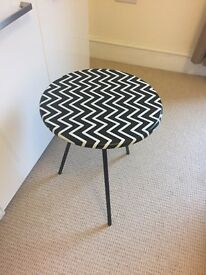 Wayfair chevron side table