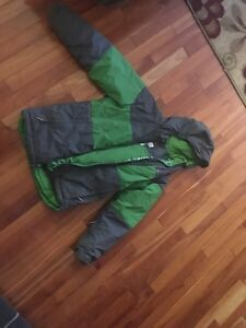 Boys winter coat size m (10)