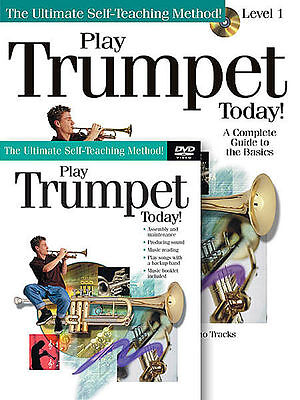 PLAY TRUMPET TODAY BEGINNER LESSON BOOK + CD + DVD NEW on Rummage