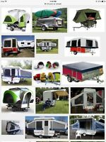 Pop up camper trailer, small , looking for a small camper