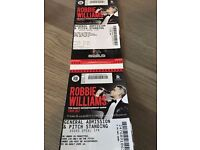 2 tickets for Robbie Williams at Murrayfield, Edinburgh (Erasure supporting) 9th June 2017