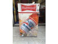 Retro Budweiser fridge