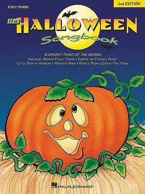 The Halloween Songbook 2nd Edition Sheet Music Easy Piano SongBook NEW - Halloween Music Piano Sheet Music