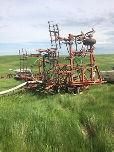 33 foot Morris air seeder