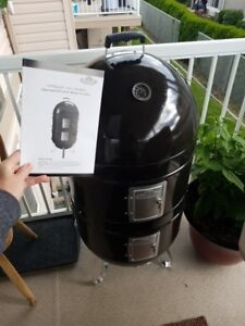 Brand new 3-in-1 charcoal smoker