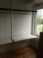 IKEA STOLMEN shelving unit FOR SALE! MINT CONDITIONS