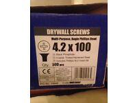 Drywall plasterboard screws 100mm x 300