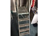 Wooden ladders perfect for upcycling