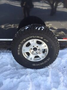 35x12.5x17 tires and wheels