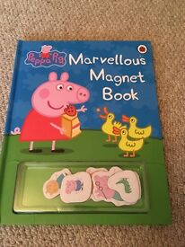 Peppa pig marvellous magnet book. NOW SOLD