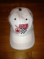 White Montreal Grand Prix Hat / Casquette Blanche Grand Prix City of Montréal Greater Montréal Preview