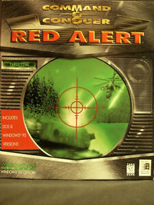 PC Game: COMMAND & CONQUER: RED ALERT