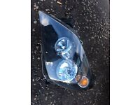 Astra headlight