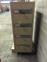 Heavy Duty Fire Proof 4 Drawer Filing Cabinet in great shape.