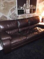 Full Leather Couch