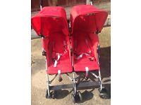 Maclaren stroller for twins