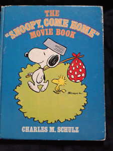 THE SNOOPY COME HOME MOVIE   BOOK 1972  COLLECTABLE London Ontario image 1