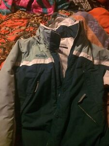 Columbia woman's small winter jacket