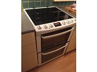 **JAY'S APPLIANCES**ZANUSSI**60CM**ELECTRIC COOKER**DOUBLE OVEN**VERY GOOD CONDITION**DELIVERY**