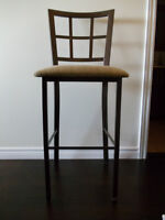 Less than half-price!  Set of 4 bar stools - new condition!!