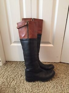 Steve Madden boots leather size 8