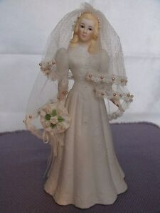Music Box Blonde Haired Bride Figurine London Ontario image 2