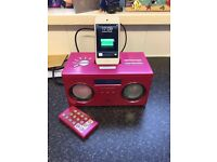 iPod touch 4th generation and docking speakers