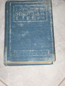 An Outstanding Old Book [1901]...A SINGULAR LIFE [Phelps]
